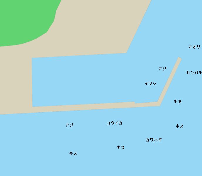 野見潮ばかり公園ポイント図