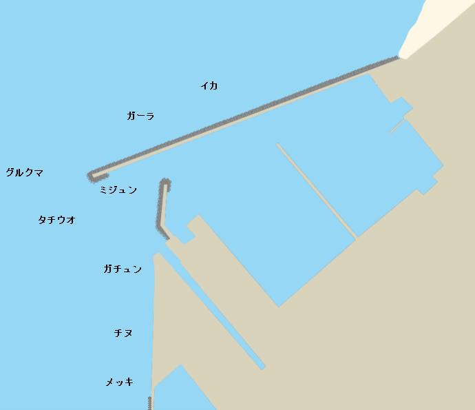 宜野湾マリーナポイント図