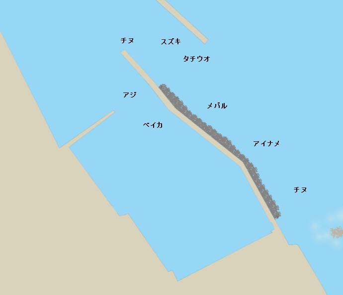原漁港ポイント図