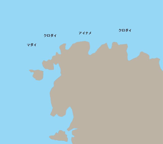 八幡崎ポイント図