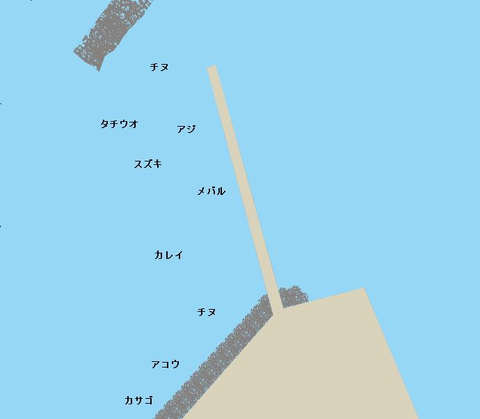 今出港ポイント図