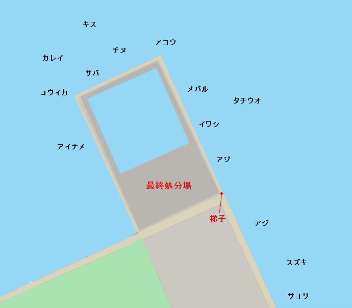 菊本岸壁ポイント図