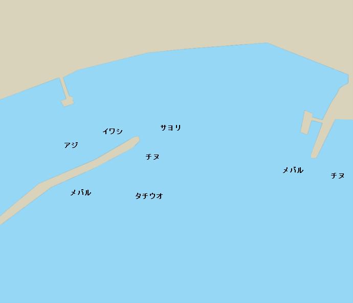 小用港ポイント図