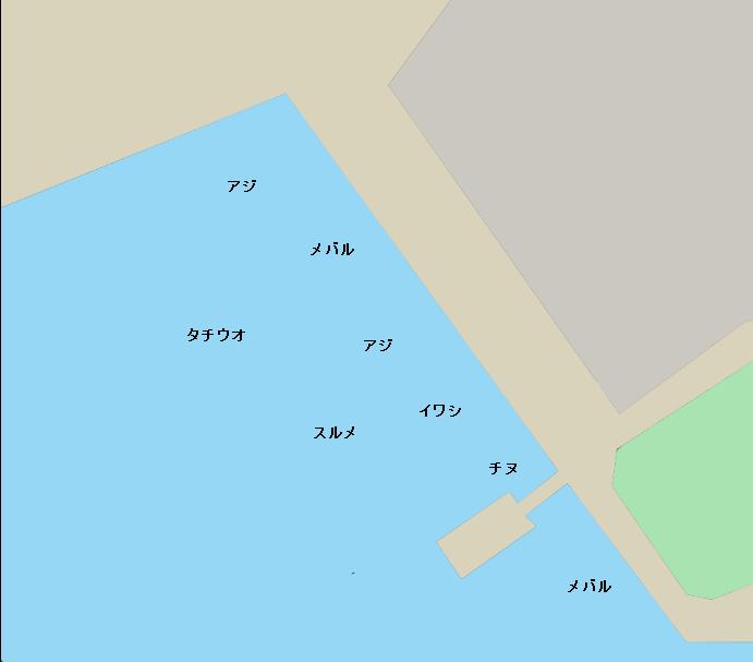 呉ポートピアパークポイント図