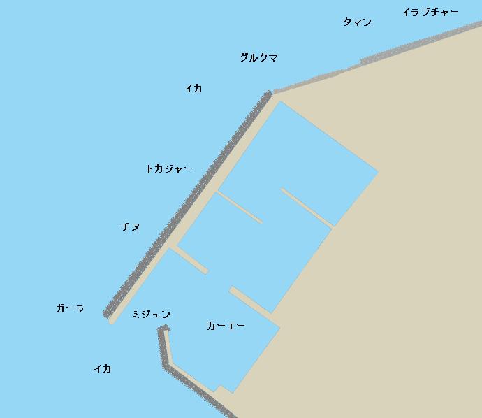 三重城港ポイント図