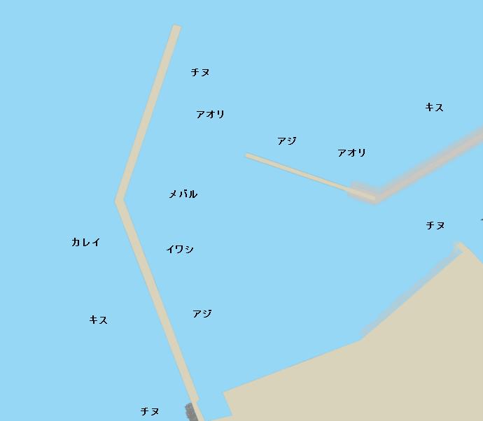 室本港ポイント図