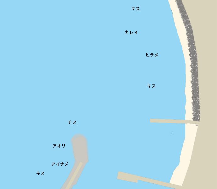 仁老浜ポイント図