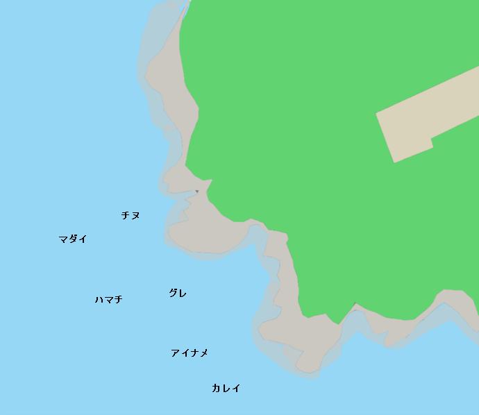 御崎神社下ポイント図