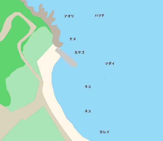 大角海浜公園ポイント図