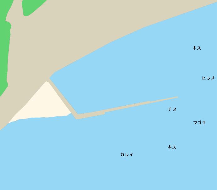 江田島津久茂港ポイント図