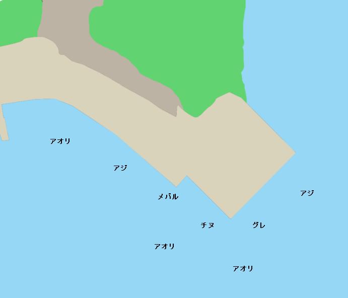 遊子水が浦周辺のポイント