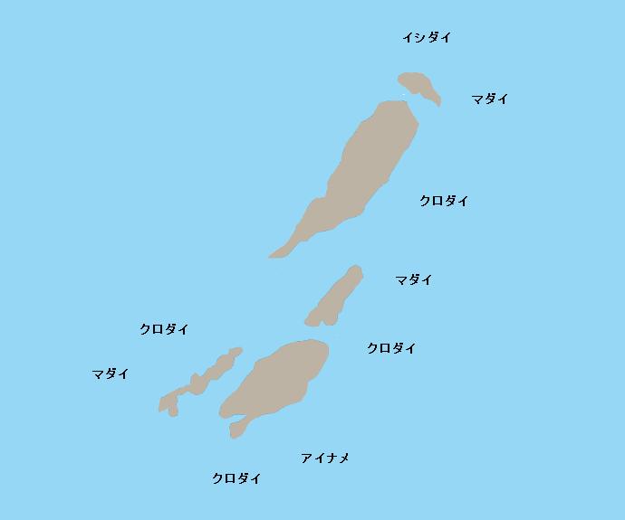 四ツ島ポイント図