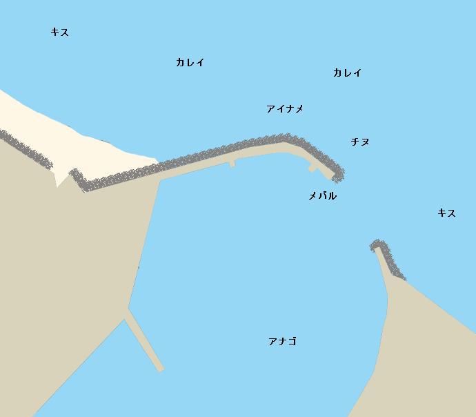 神在港ポイント図