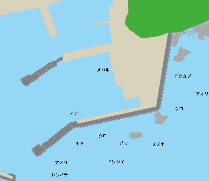 阿蘇港ポイント図
