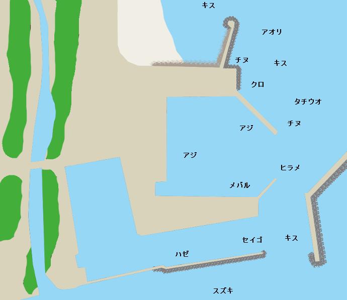 武蔵港ポイント図