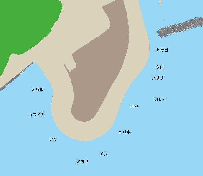 夏井公園ポイント図