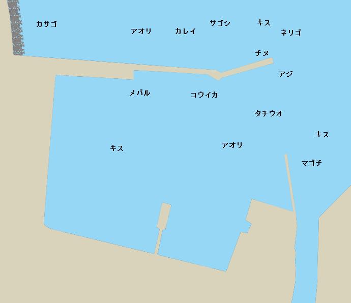 今福港ポイント図