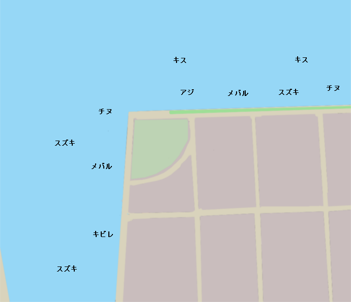 喜々津シーサイドポイント図