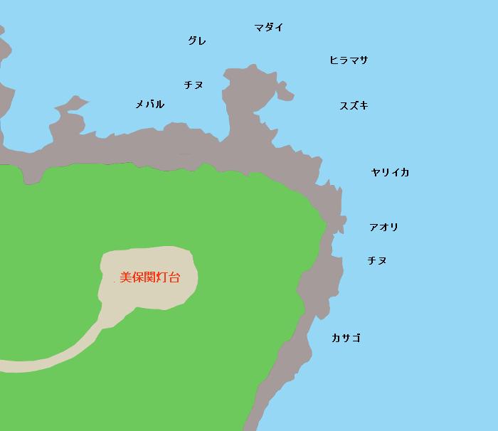 地蔵崎ポイント図