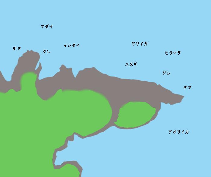 九島ポイント図
