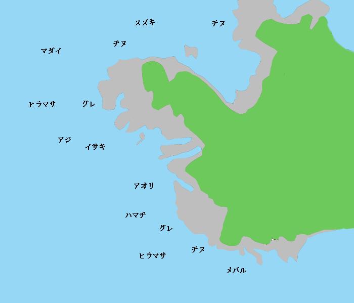 松ケ鼻ポイント図