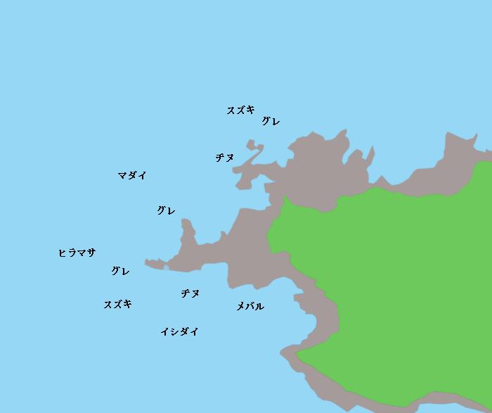 福浦の御崎(島後)