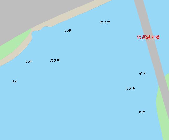 宍道湖大橋周辺