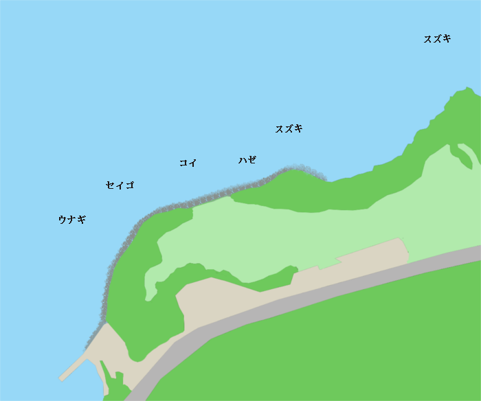 宍道湖ふれあいパーク周辺