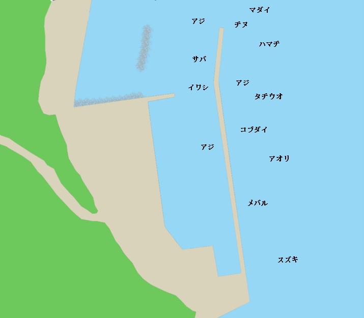 周防大島出井港