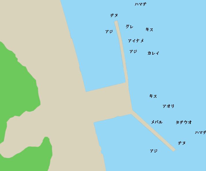 上関港ポイント図
