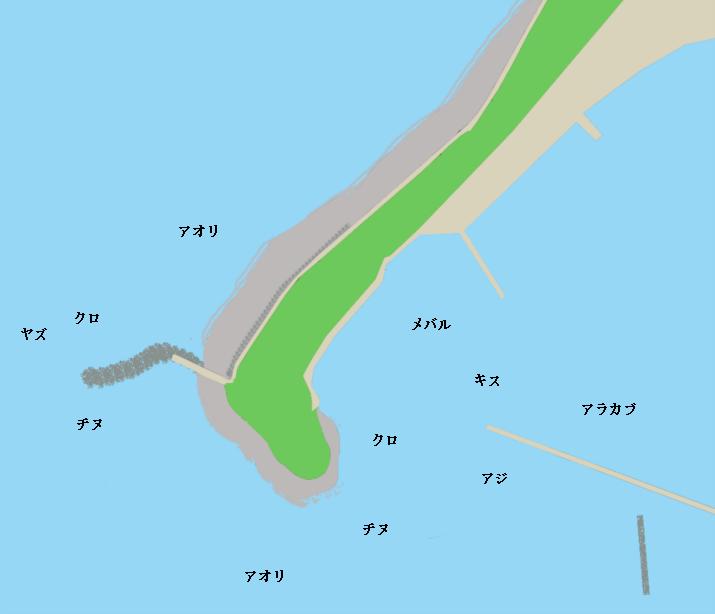 神集島宮崎周辺