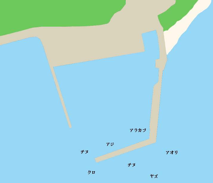 神集島大藪波止