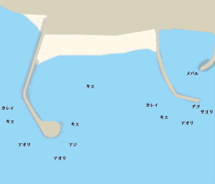 丸山海浜パークポイント図