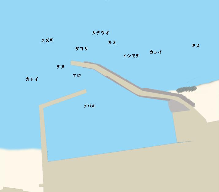 周防大島三蒲港