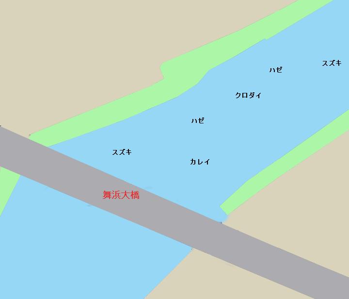 旧江戸川河口・舞浜大橋周辺のポイント(東京都江戸川区葛西、千葉県浦安市)