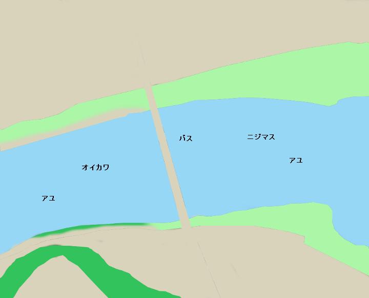 相模川桂川橋周辺のポイント