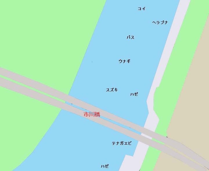 江戸川市川橋周辺のポイント(東京都江戸川区北小岩、千葉県市川市)