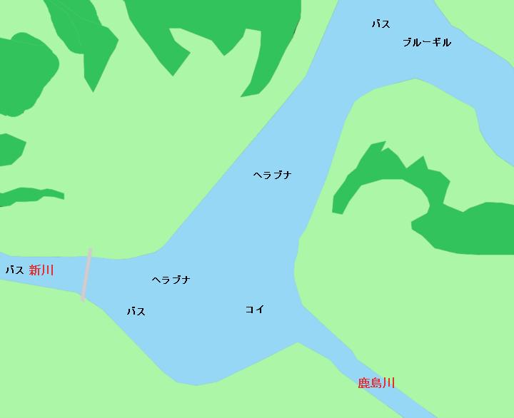 印旛沼西部調整池のポイント