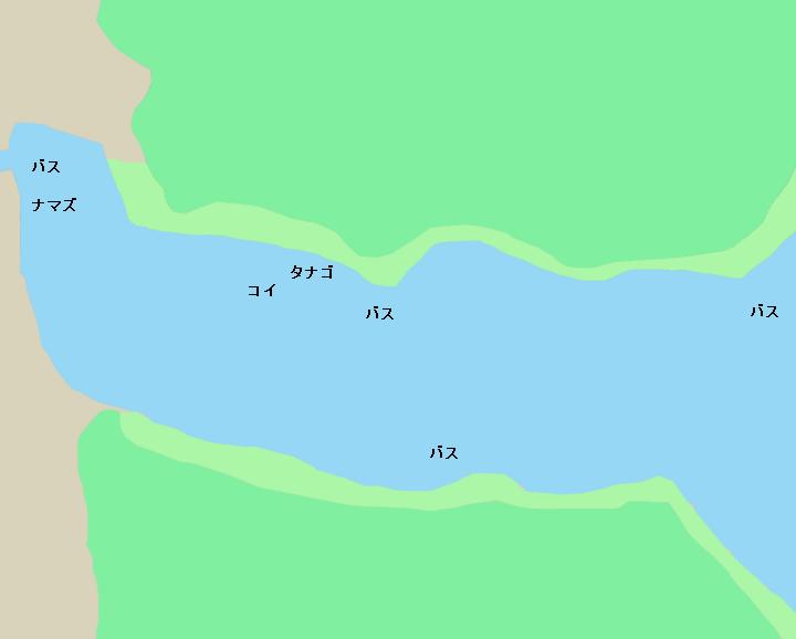 霞ヶ浦のポイント 西の浦エリア