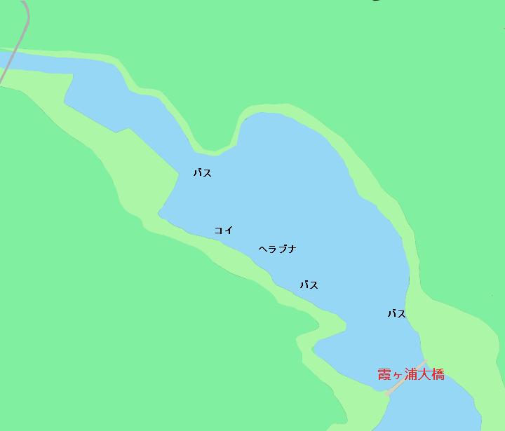 霞ヶ浦のポイント 東浦エリア(霞ヶ浦大橋、柏崎ドック、浜ドックなど)