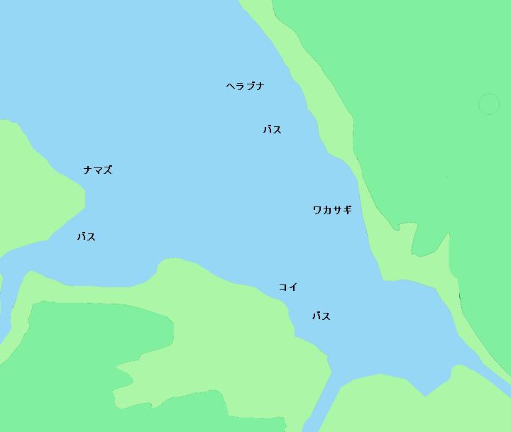霞ヶ浦本湖周辺のポイント
