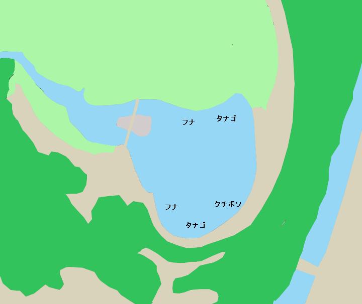 川口自然公園ポイント図
