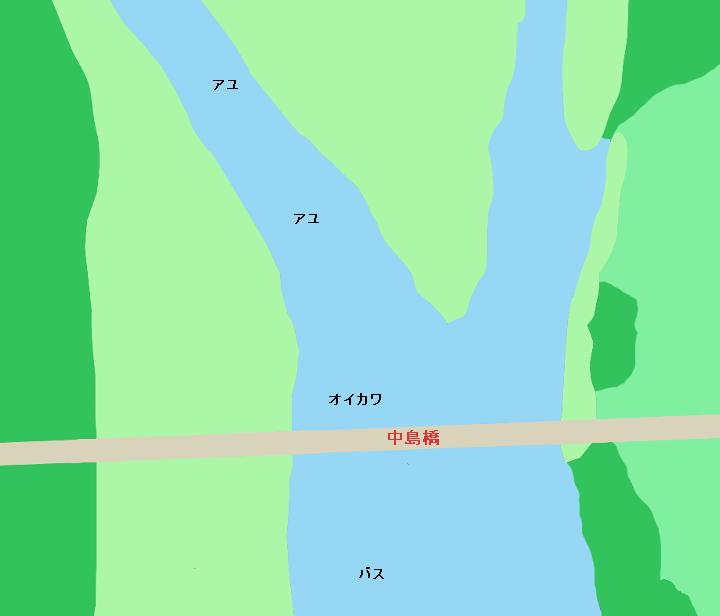 鬼怒川中島橋周辺のポイント(栃木県小山市・茨城県筑西市)