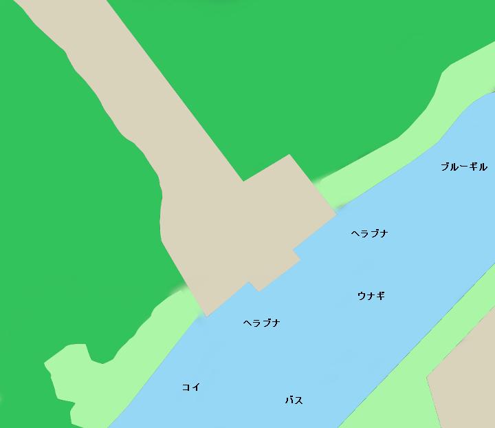 水元公園記念広場付近のポイント