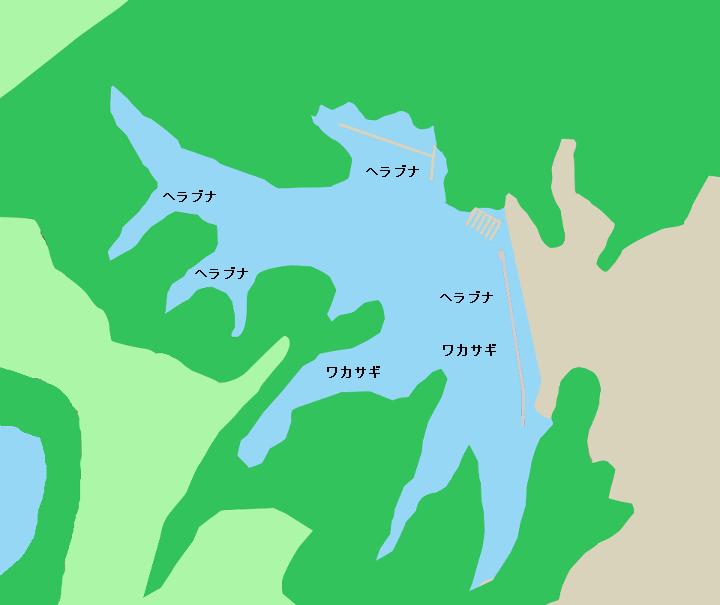 三名湖ポイント図