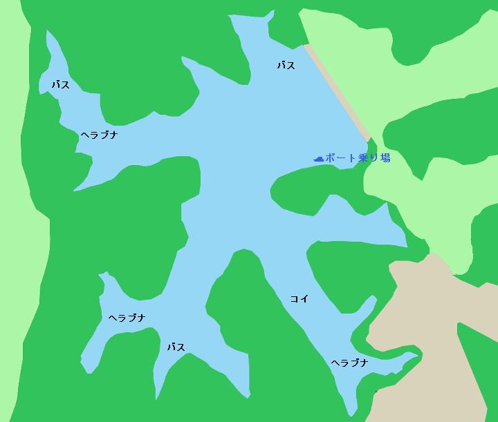 竹沼ポイント図