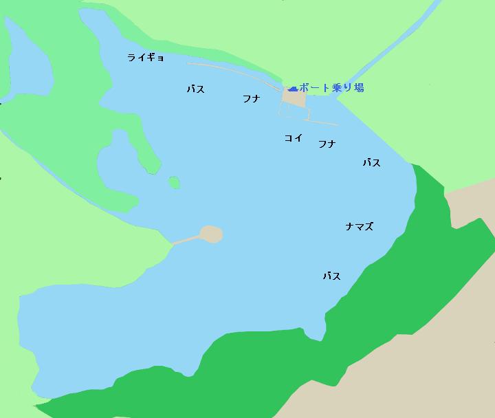 多々良沼ポイント図