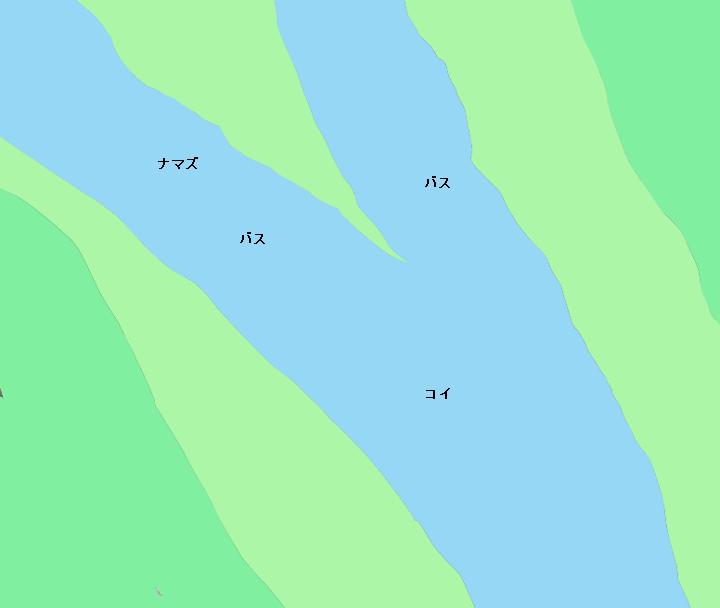 利根川渡良瀬川合流地点付近のポイント(埼玉県加須市、茨城県古河市)