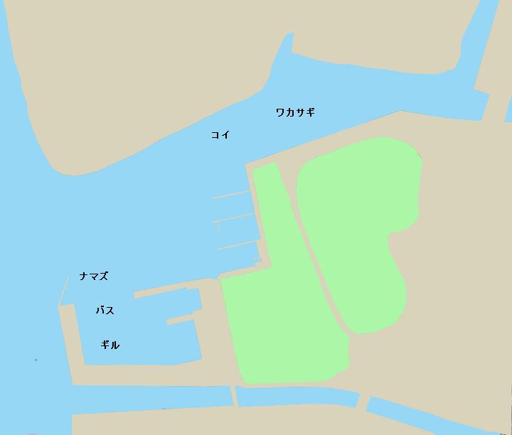 霞ヶ浦 土浦港のポイント