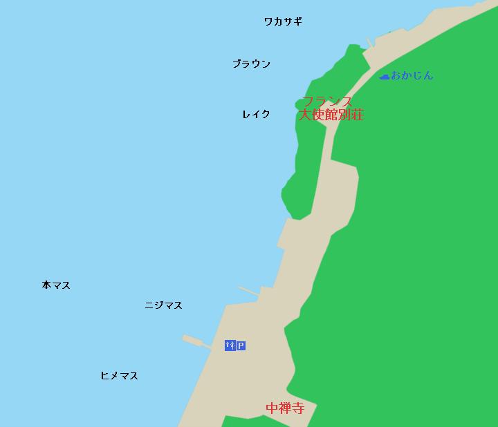 中禅寺湖フランス大使館~立木観音周辺のポイント